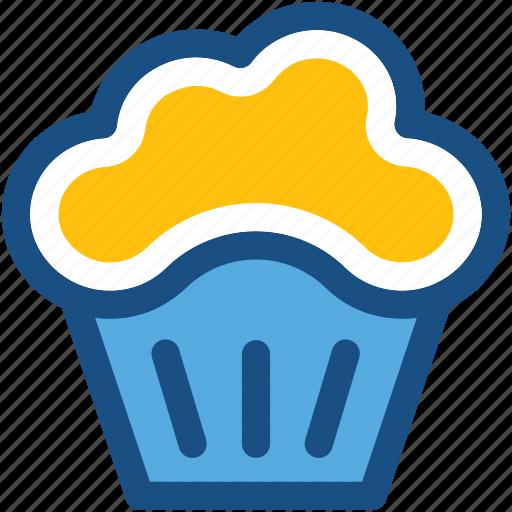 bakery food, dessert, meat pie, muffin, pie icon
