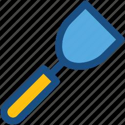 cooking tools, kitchen turner, kitchen utensils, spatula, turning spatula icon