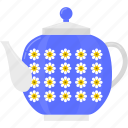 beverage, coffee, hot, kettle, kitchen, tea icon