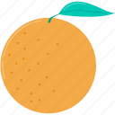 eat, food, fruit, healthy, orange, organic, sweet icon