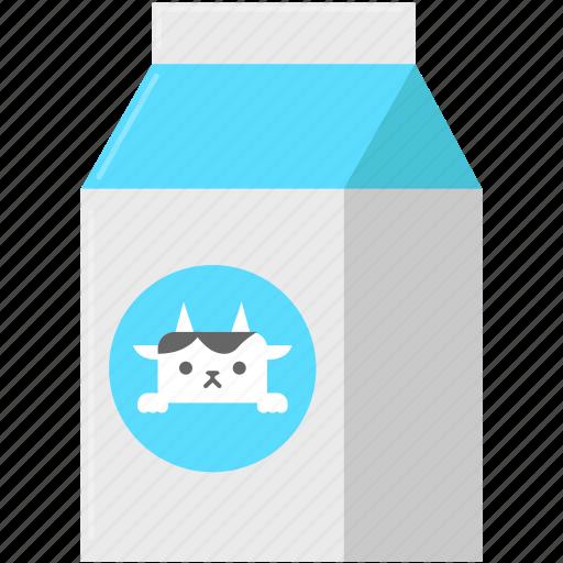 beverage, drink, food, milk icon