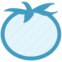 food, fruit, red, tomato, vegetables, vegetarian icon