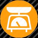 equipment, kitchen, kitchenware, scale, weight
