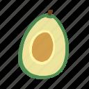 avocado, food, fruit, vegetarian, diet, healthy