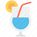 drink, juice, lemonade, orange juice, orange slice icon