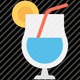 drink, juice, lemonade, orange juice, orange slice icon