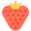 diet, food, fruit, healthy food, strawberry icon