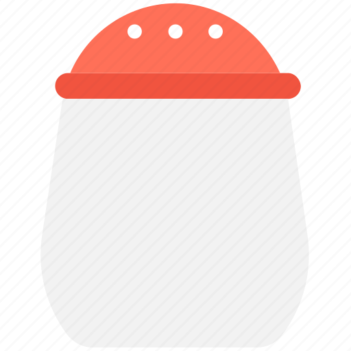 pepper mill, pepper pot, pepper shaker, salt pot, salt shaker icon