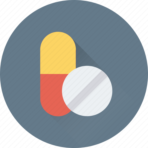 capsule, pills, supplements, tablet, vitamins icon