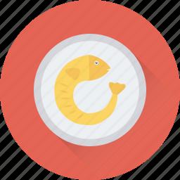 cooked prawn, crayfish, prawn, seafood, shrimp icon