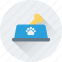 bone, bowl, dog food, dog treat, pet food icon