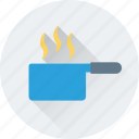 burner, cooking, meal, pan, stove icon