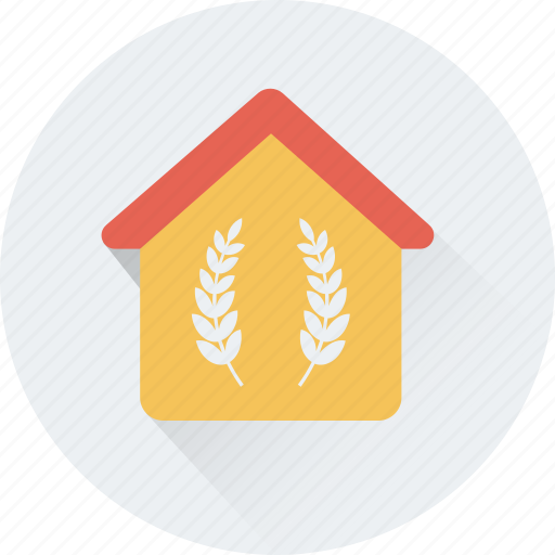 agriculture, cottage, farmhouse, house, rural house icon