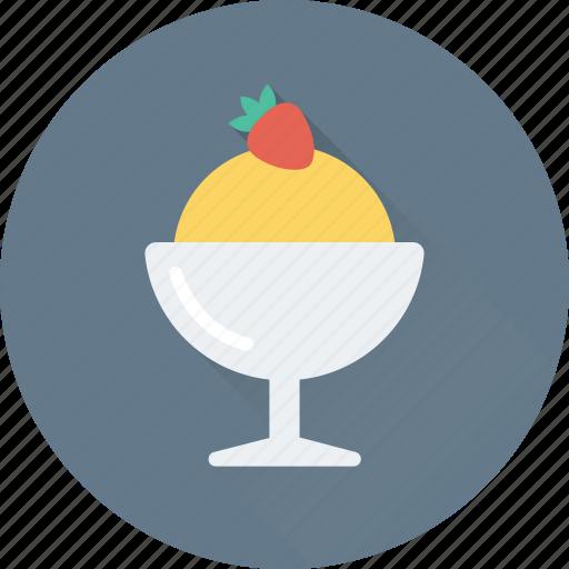 dessert, food, ice cream, ice cream cup, sweet icon