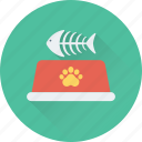 bone, dog food, fish bone, pet, pet food icon