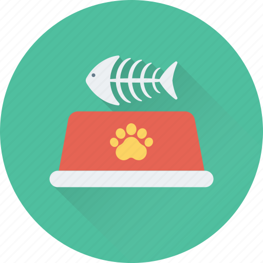 bone, dog food, fish bone, pet, pet food icon