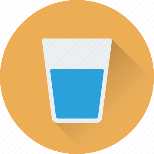 drink, glass, juice, soda, water glass icon