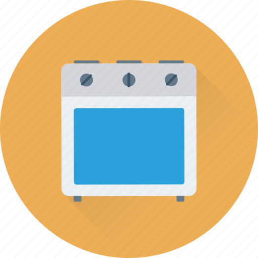 burner, cooking range, gas range, gas stove, kitchen icon