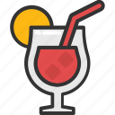 alcohol, cocktail, drink, margarita, martini icon