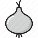 allium sativum, food, garlic, garlic bulb, spice icon