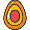 avocado, food, fruit, gastronomy, pear icon