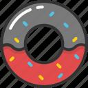 bakery food, confectionery, donut, doughnut, sweet