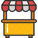 booth, food shop, store, street kiosk, super store icon
