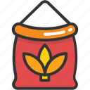 flour, flour sack, food, gastronomy, kitchen icon