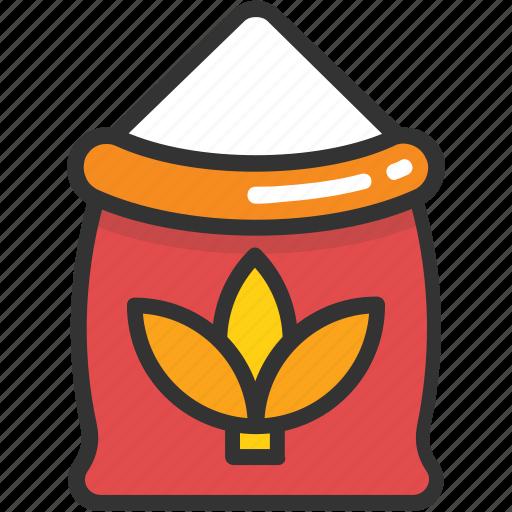 flour, flour sack, food, gastronomy, kitchen icon