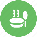 kitchen utensils, bowl, soup, chinese food, caffe latte, cereal icon