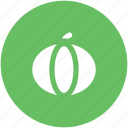 food, vegetable, cucurbita maxima, jicama, cucurbita pepo, pumpkin icon