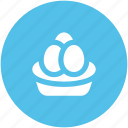 food, chicken eggs, eggs, breakfast, dairy food icon