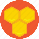 bee honey, beeswax, honey, honey wax, sweet food icon