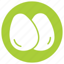 egg, eggs, food, healthy, meal icon