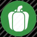 bell, green, green bell pepper, nature, pepper icon