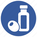 energy, healthy, oil, olive icon