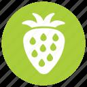 fresh, fruit, strawberry, sweet icon