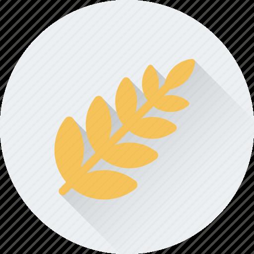 food, grain, rye, wheat, wheat ear icon