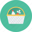 basket, food, fruit, grocery, supermarket icon
