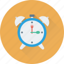 alarm, clock, time, timepiece, watch icon