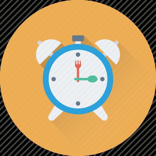 alarm, clock, time, timepiece, watch icon