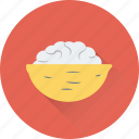 bowl, food, food bowl, salad, snacks icon