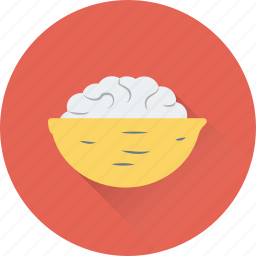 bowl, food, food bowl, salad, snacks icon