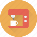 coffee, coffee machine, coffee maker, espresso, percolator icon