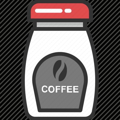 beans, cappuccino, coffee, coffee jar, grains icon