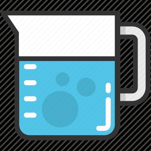 beaker, ewer, kitchen utensil, measuring jug, water jug icon