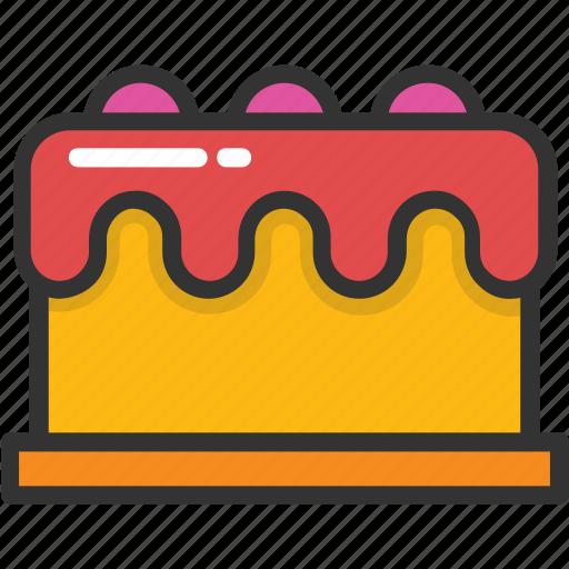 bakery food, birthday cake, cake, dessert, food icon