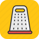 food grater, grater, hand grater, kitchen grater, kitchen utensil icon
