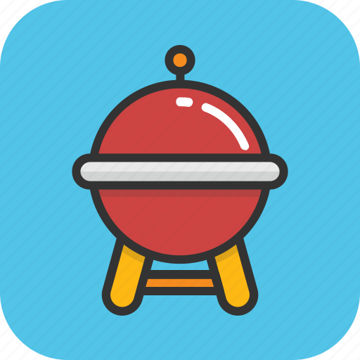 barbecue, bbq, bbq grill, charcoal grill, grill icon