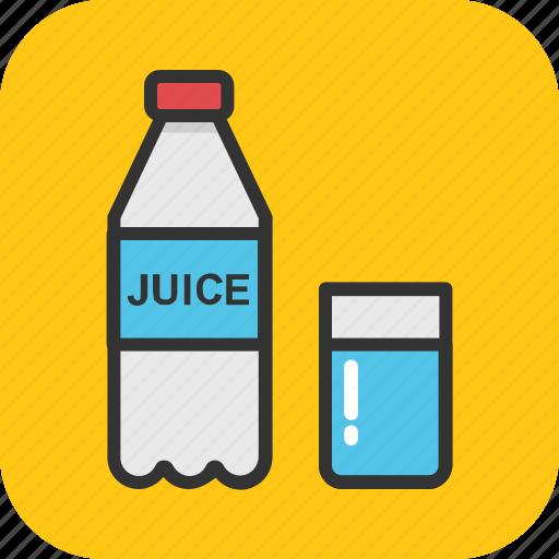 bottle, breakfast, food, glass, milk icon